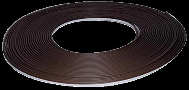 Joint sur dormant LD 411 KISO - rainure 4mm H.11mm pied décalé - rouleau 250m Noir - LD411PVC250-SPN
