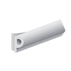 Joint de calfeutrement ELTON - Profil P - Blanc - Mètre L - 600301510