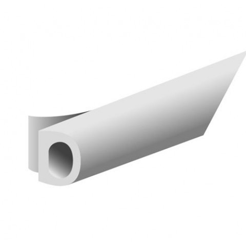 Joint de calfeutrement ELTON - Profil D - Blanc - Prix au rouleau - 3000035