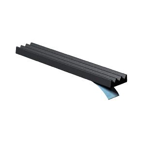 Joint de calfeutrement ELTON - Profil K pour espace faible - noir - rouleau 15 m  - 3000017