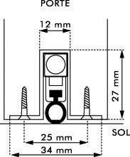 Joint de rechange pour Klomatic JOURJON - Le mètre L - 89001