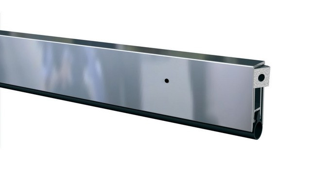 Plinthe automatique ELLEN-MATIC2 aluminium ELTON 83 cm - 1807154