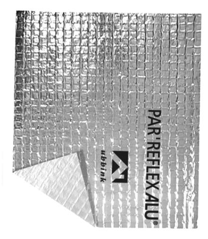 Écran pare-vapeur par'reflex alu UBBINK - 1.5 m x 50 m - 204020