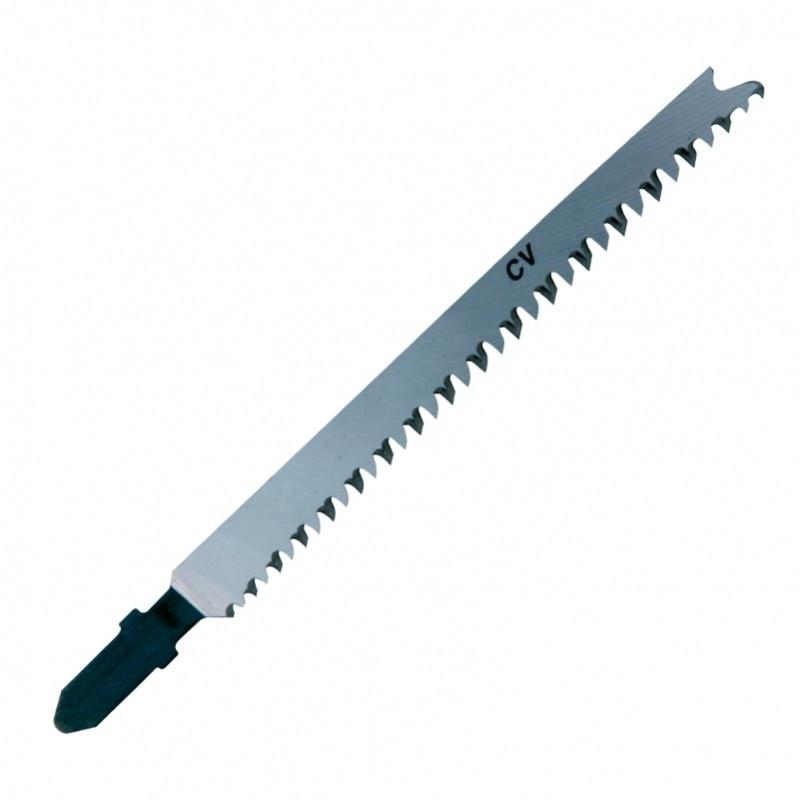 Lame de scie sauteuse LEMAN - pour bois dur - longueur utile 90 mm - carte de 5 - 7014.05