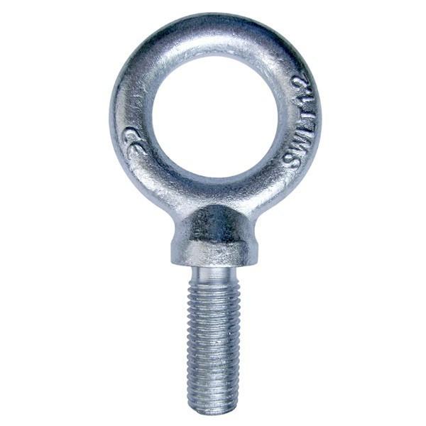 Anneau de levage Mâle LEVAC - Ø 12 mm - Ø intér. 30 mm - L.20.5 mm - DIN.580 - CMU 340 kg - 5025DG