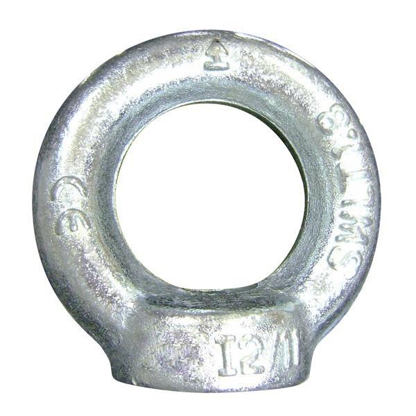 Anneau de levage Femelle LEVAC - Ø 10 mm - Ø intér. 25 mm - DIN.582 - CMU 230 kg - 5026CG