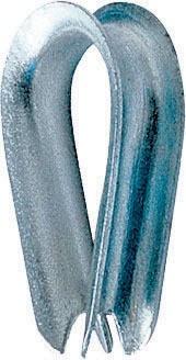 Cosse coeur petite ouverture LEVAC - Pour câble Ø 4 mm - 5080A