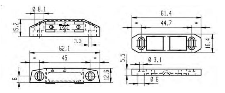 Loqueteau LS MONIN - 6 Kg - 211410