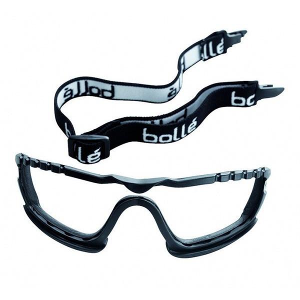 Kit mousse et tresse pour lunettes COBRA - BOLLE SAFETY - KITFSCOB