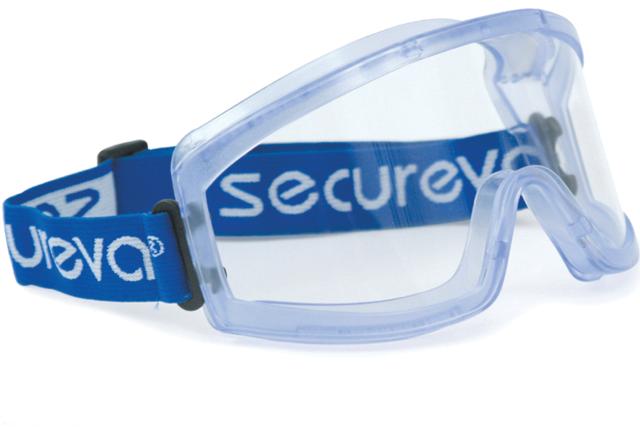 Lunettes masque PVC écran polycarbonate ventilation directe SINGER - EVA03