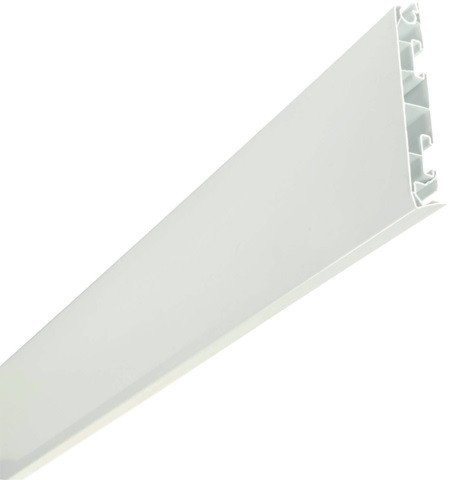 Planche de rive alvéolaire Belriv NICOLL H.17 cm x 4 m - Blanc - C-AB174B