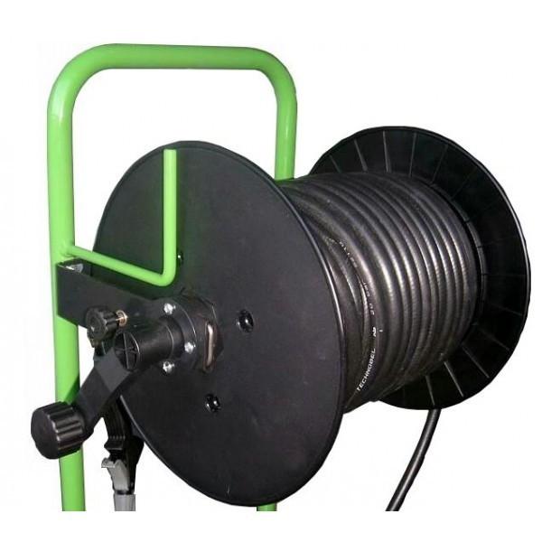 Motopompe électrique, lance et enrouleur DALEP