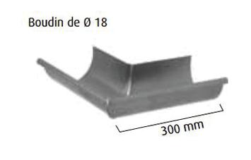 Équerre interieure lyonnaise VM ZINC en zinc naturel - 2200154