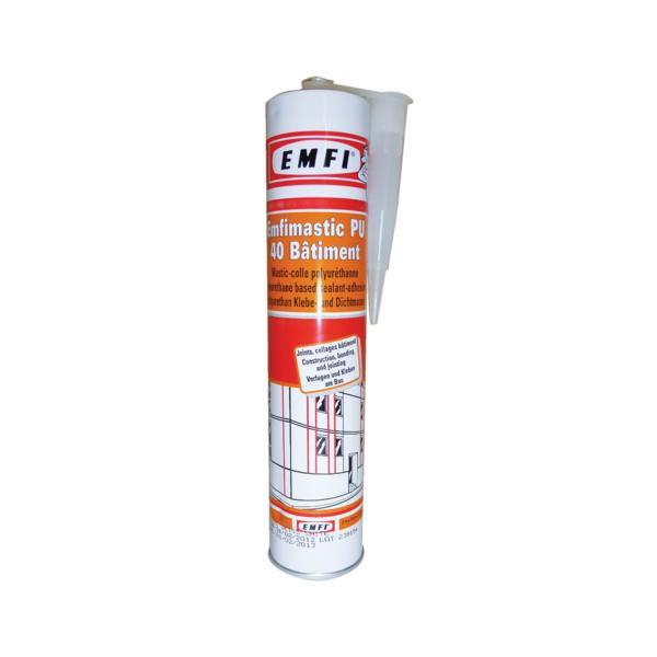 Mastic colle polyuréthane PU40 EMFI - 74063
