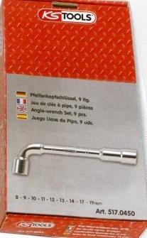 Jeu de 22 clés à pipe 6 pans KSTOOLS - Ø 6 à 24 mm - 517.0453