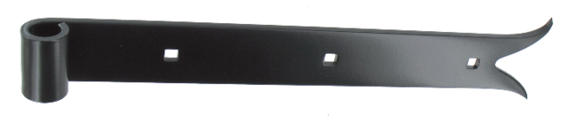 Penture droite - Queue de carpe - 1PD92
