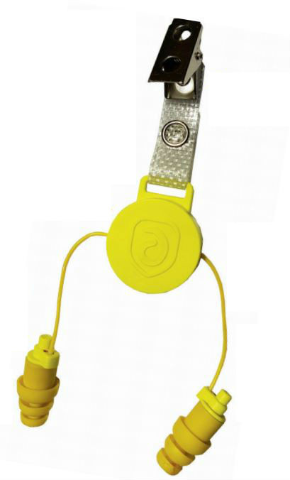Bouchons d'oreilles Eartech Access 25 AI Jaune AUDITECH - ACCESS25AI_J