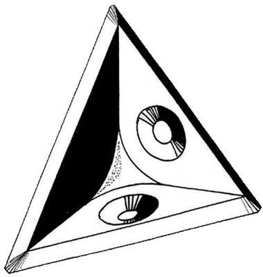 Taquet d'étagère triangulaire - 194 - PRUNIER - 621400