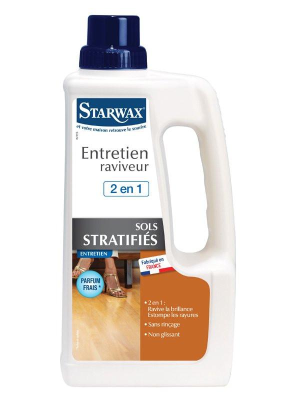 Entretien raviveur parquets et sols stratifiés STARWAX - 1 L - SW961