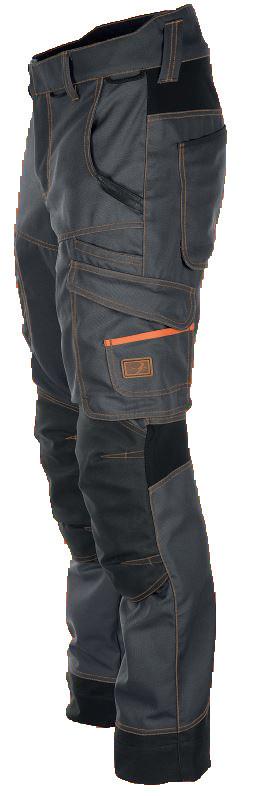 Pantalon Trident Graphite surpiqûres Camel BOSSEUR - 11519