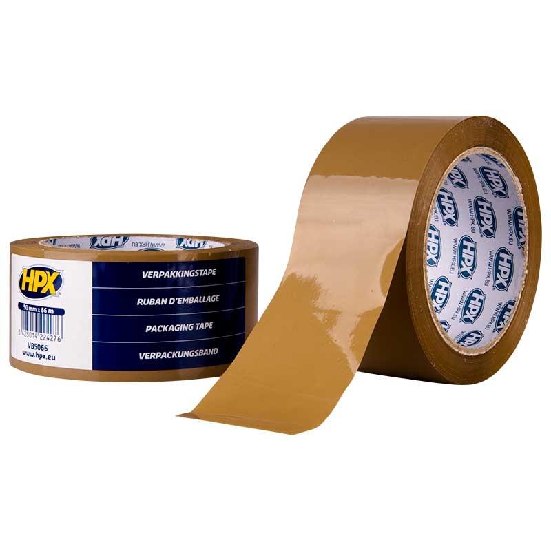 Ruban adhésif d'emballage 50mm x 66m HPX