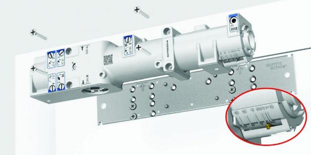 Ferme-porte TS 98 XEA DORMA - Pack complet - 441103