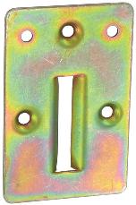 Kit serrure 3 points TIRARD - Acier zingué bichromaté - QPE08022