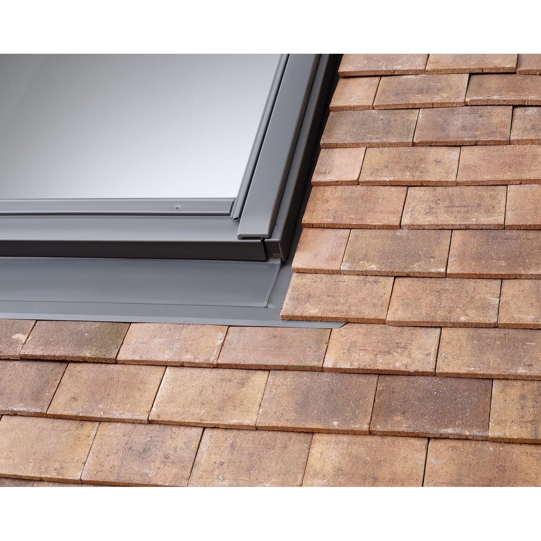 raccord velux pour fen tre de toit sur petite tuile edp fen tre de toit couverture. Black Bedroom Furniture Sets. Home Design Ideas