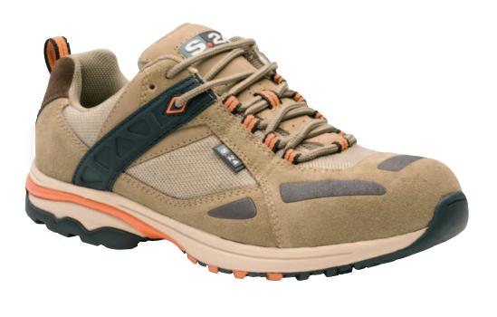 Chaussure cuir QUANTI S1 P HRO SRC cuir croûte velours - S24 BOSSI - T.39 - 5172-39