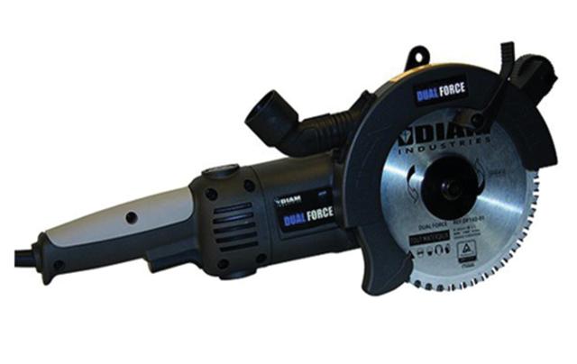 Scie double lame DIAM INDUSTRIES 1500W Ø160mm - DF160