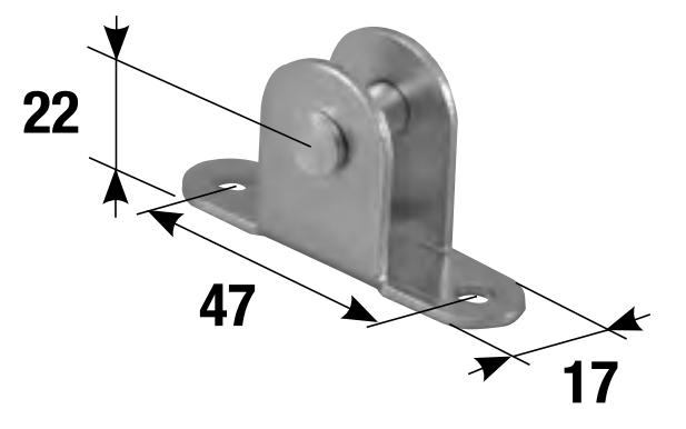 Vérins à gaz et accessoires de fixation MADICOB - QPE08105