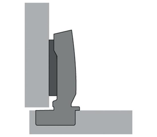 charni re sensys hettich 405350 charni re invisible but e et amortisseur ameublement. Black Bedroom Furniture Sets. Home Design Ideas