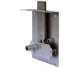 Serrure de tiroir à entailler 267F DEVISMES - Acier - Avec clé 12 - S267A
