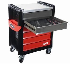 Servante 6 tiroirs avec 220 outils SAM + Trottinette électrique - CPP200TROT