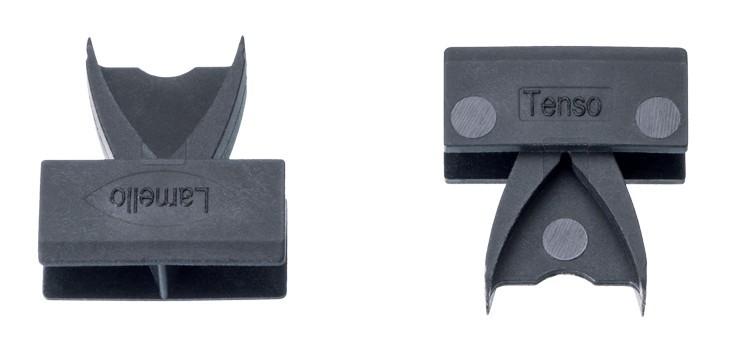 Élément d'assemblage LAMELLO Tenso P-14 - 300 paires avec clip de prétension - 145425S