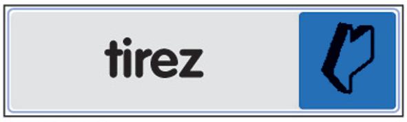 Plaque de signalisation plexi - Tirez / poussez - 403