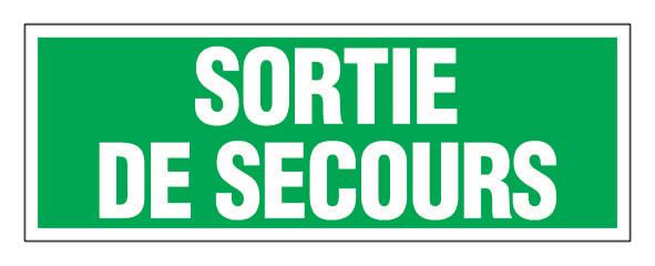 Plaque de signalisation NOVAP Entrée interdite / Défense d'entrer / Propriété / Sortie de secours - 416