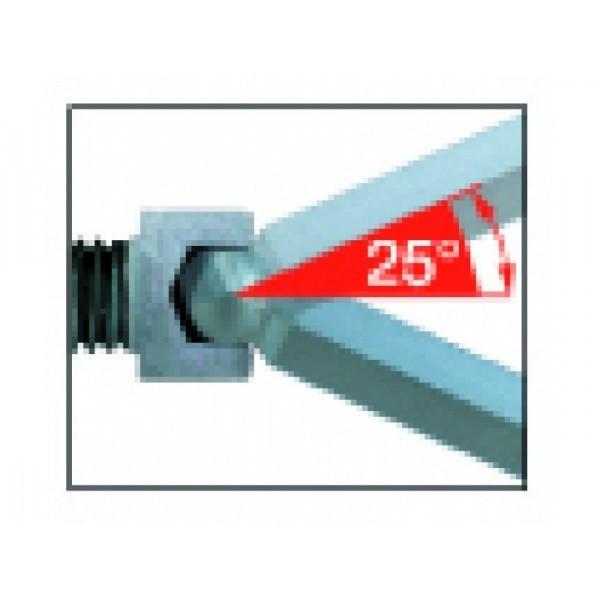 Jeu de 9 clés coudées à tête sphérique WIHA - 07193
