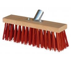 Balai cantonnier 31 cm PVC rouge MERCIER 840