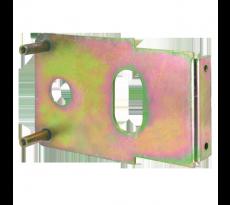 Plaque de fixation THIRARD pour serrure horizontale de grille - 007967