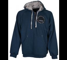 Sweat-shirt capuche BADLOCK Bleu Chiné - 116061