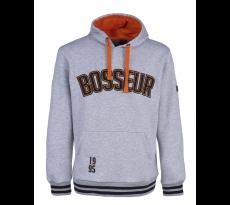 Sweat-shirt à capuche Tokko BOSSEUR - gris-chiné -11256