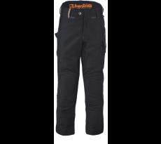 Pantalon Harpoon Alti Moleskine BOSSEUR - noir - 11280
