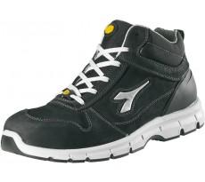 Chaussure de sécurité DIADORA Haute HI Run ESD Nubuck Noire - 159801
