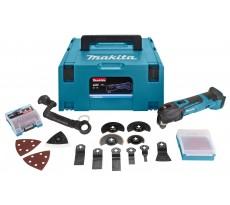 Découpeur-ponceur MAKITA 18V Li-Ion - Sans batterie, ni chargeur - En coffret MAKPAC - DTM51ZJX3