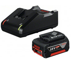 Batterie BOSCH GBA 18V 4.0 Ah + Chargeur 18V-40 Professional - 1600A01B9Y