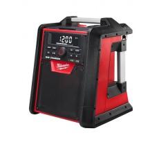 Radio de chantier MILWAUKEE M18 RC-0 18V - Fonction chargeur de batterie - Sans batterie ni chargeur - 4933446639