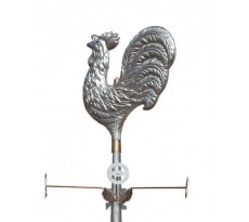 Girouette coq estampée 301 VmZINC - zinc naturel - 220017097