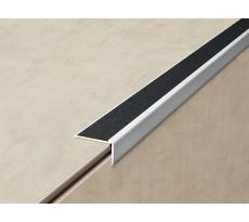 Nez de marche adhésif + bande carbo noire L.3m 3M pour sols fins - 228901D
