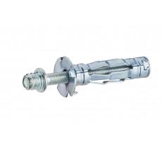Kit chevilles métal pour paroi creuse NOYON & THIEBAULT - Ø 5 mm - L 36 mm + patte à vis - L 50 mm Sachet 10 pces - 7455-36S10